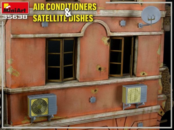 MiniArt 35638 AIR CONDITIONERS & SATELLITE DISHES 1/35