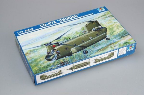 Trumpeter 01621 CH-47A Chinook medium-lift helicopter (1:72)