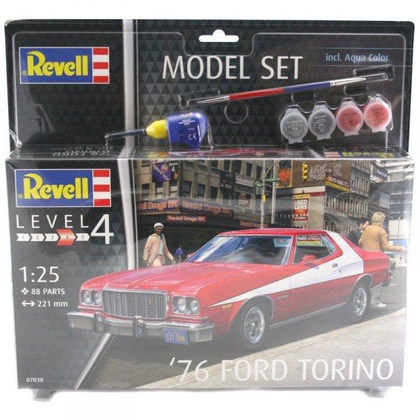 Revell 67038 76 Ford Torino Model Set (1:25)