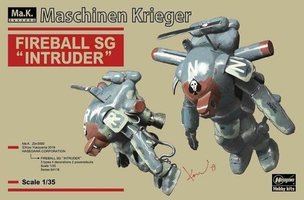 """Hasegawa 64116 Fireball SG """"Intruder"""" 1/35"""