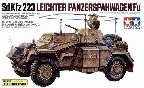 Tamiya 35268 German Armored Car Sd.Kfz.223 w/Photo Etched Parts (1:35)
