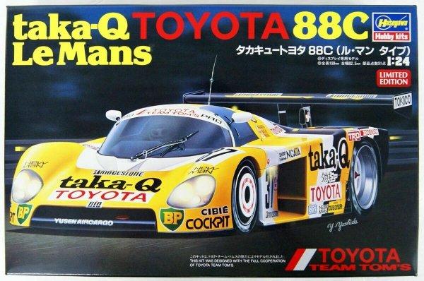 Hasegawa 20416 taka-Q Toyota 88C Le Mans 1/24