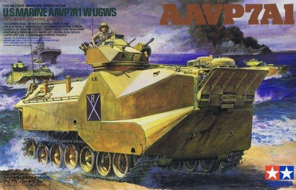 Tamiya 35159 U.S Marine AAVP7A1 (1:35)