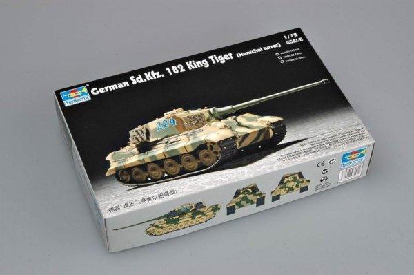 Trumpeter 07201 German Sd.Kfz. 182 King Tiger (Henschel turret) (1:72)