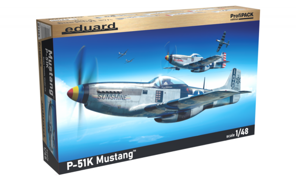 Eduard 82105 P-51K Mustang 1/48