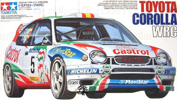 Tamiya 24209 Toyota Corolla WRC (1:24)