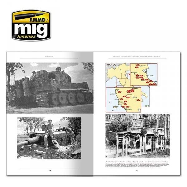 AMMO of Mig Jimenez 6261 ITALIENFELDZUG. GERMAN TANKS AND VEHICLES 1943-1945 VOL.1 (English)