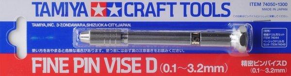 Tamiya 74050 Fine Pin Vise D (0.1-3.2mm)
