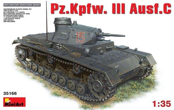 MiniArt 35166 Pz. Kpfw. III Ausf C (1:35)