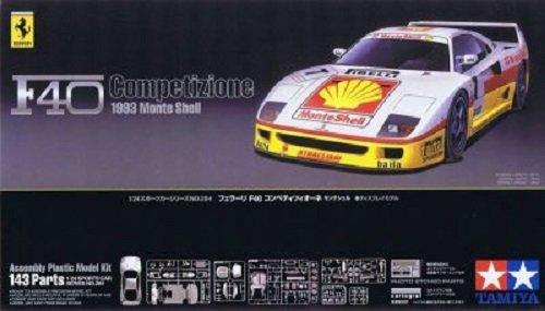 Tamiya 24284 Ferrari F40 Competizione 1993 Monte Shell (1:24)