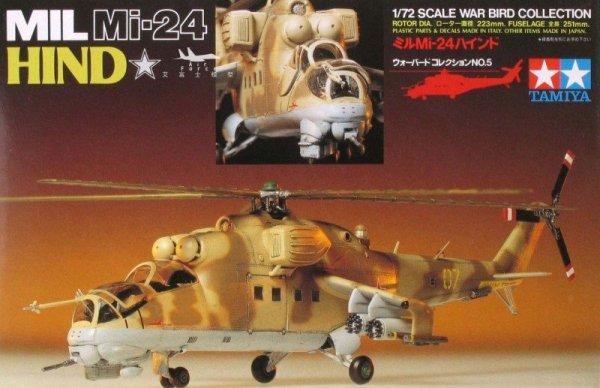 Tamiya 60705 Mi-24 Hind (1:72)