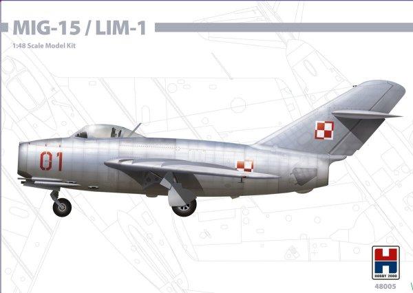 Hobby 2000 48005 MiG-15 / Lim-1 1/48