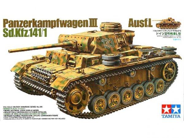 Tamiya 35215 German Pz.Kpfw. III Ausf.L (1:35)