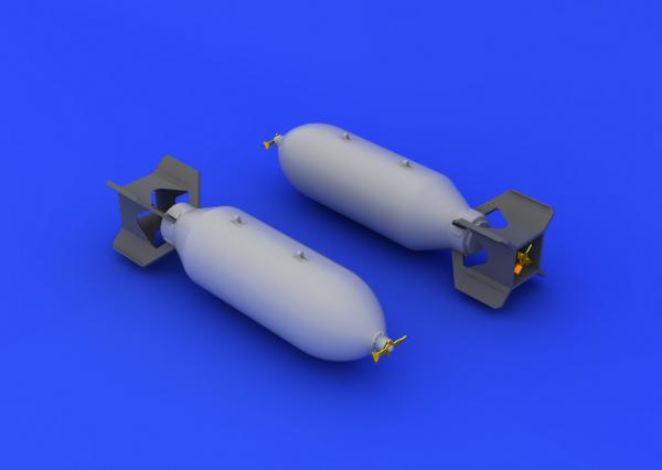 Eduard 632037 US 500lb bombs 1/32