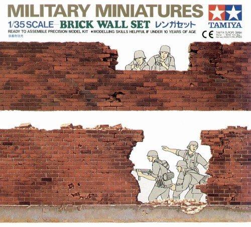 Tamiya 35028 Brick Wall Set (1:35)
