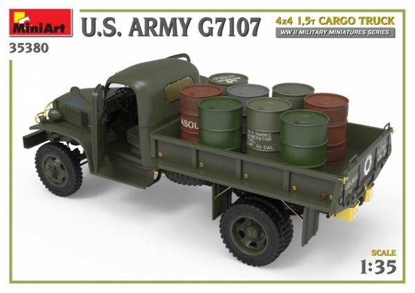 MiniArt 35380 U.S. ARMY G7107 4X4 1,5t CARGO TRUCK 1/35