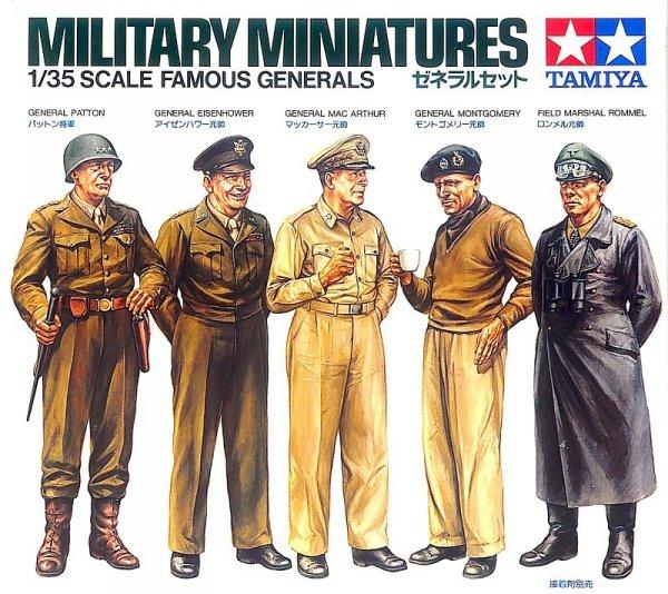 Tamiya 35118 Famous Generals (1:35)