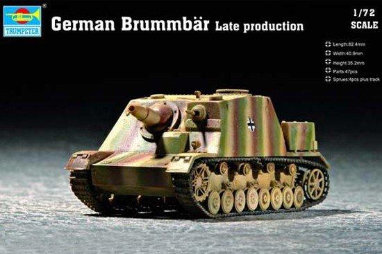 Trumpeter 07212 German Brummbar Late production (1:72)
