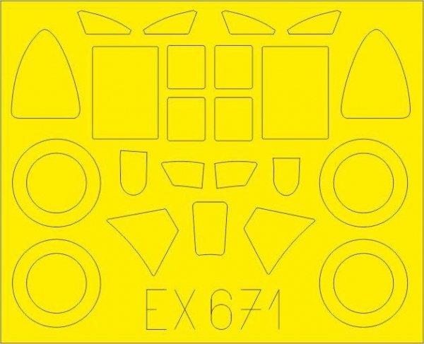 Eduard EX671 Bloch MB.151 1/48 DORA WINGS