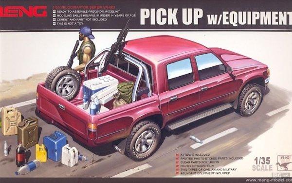 Meng Model VS-002 Pick Up w/equipment 1/35