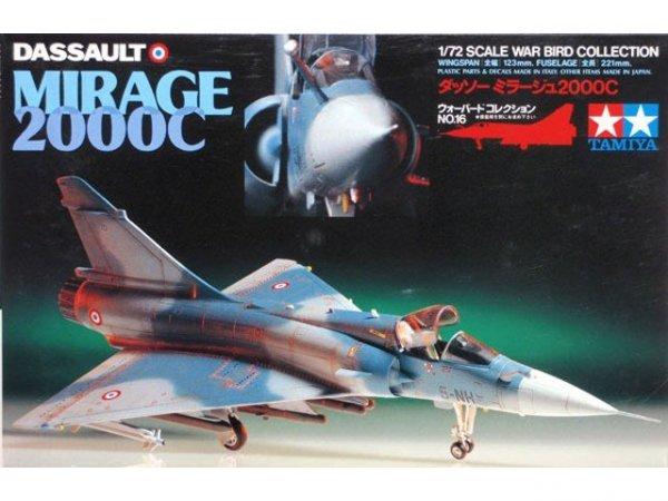 Tamiya 60716 Dassault Mirage 2000C (1:72)