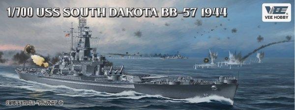 Vee Hobby E57005 USS South Dakota BB-57 1944  Deluxe Edition 1/700