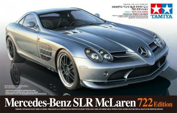 Tamiya 24317 Mercedes-Benz SLR McLaren 722 Edition (1:24)