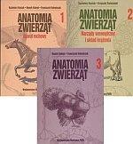Anatomia zwierząt tom 1-3 komplet PWN