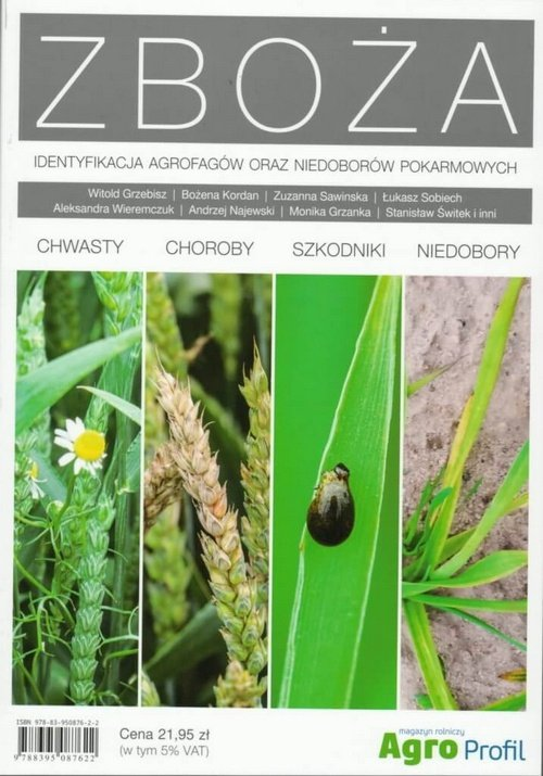 Zboża Identyfikacja agrofagów oraz niedoborów