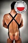 011 BODY czarne body męskie