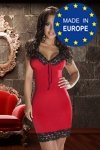 NATASHA DRESS czerwona sukienka