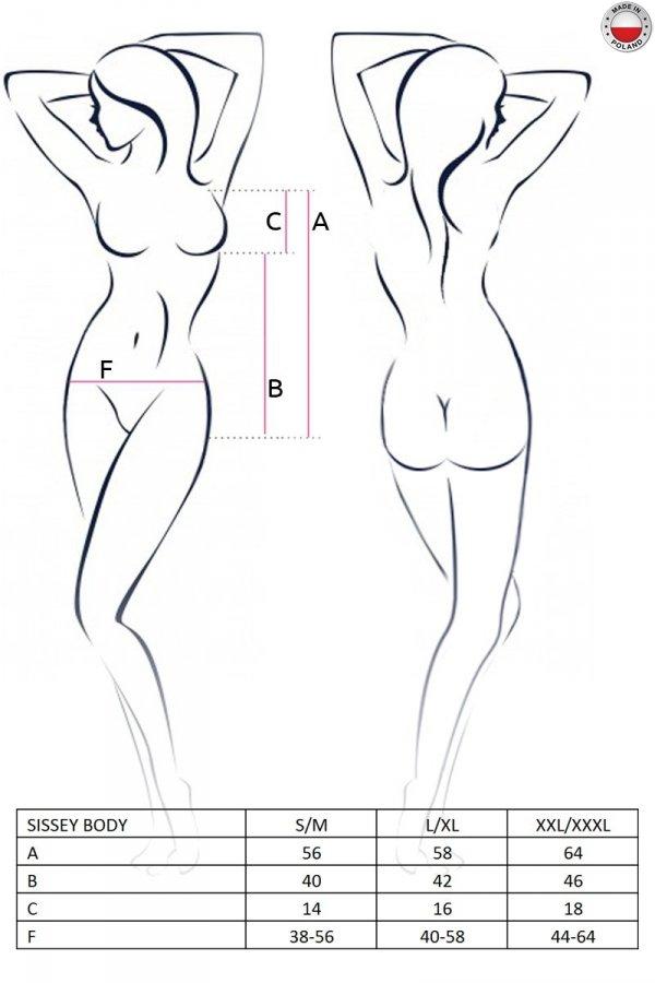 SISSEY BODY czarne body