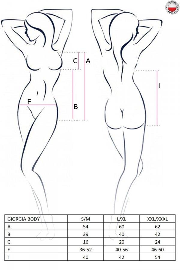 GIORGIA BODY czarne body