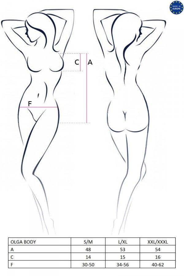 OLGA BODY białe body