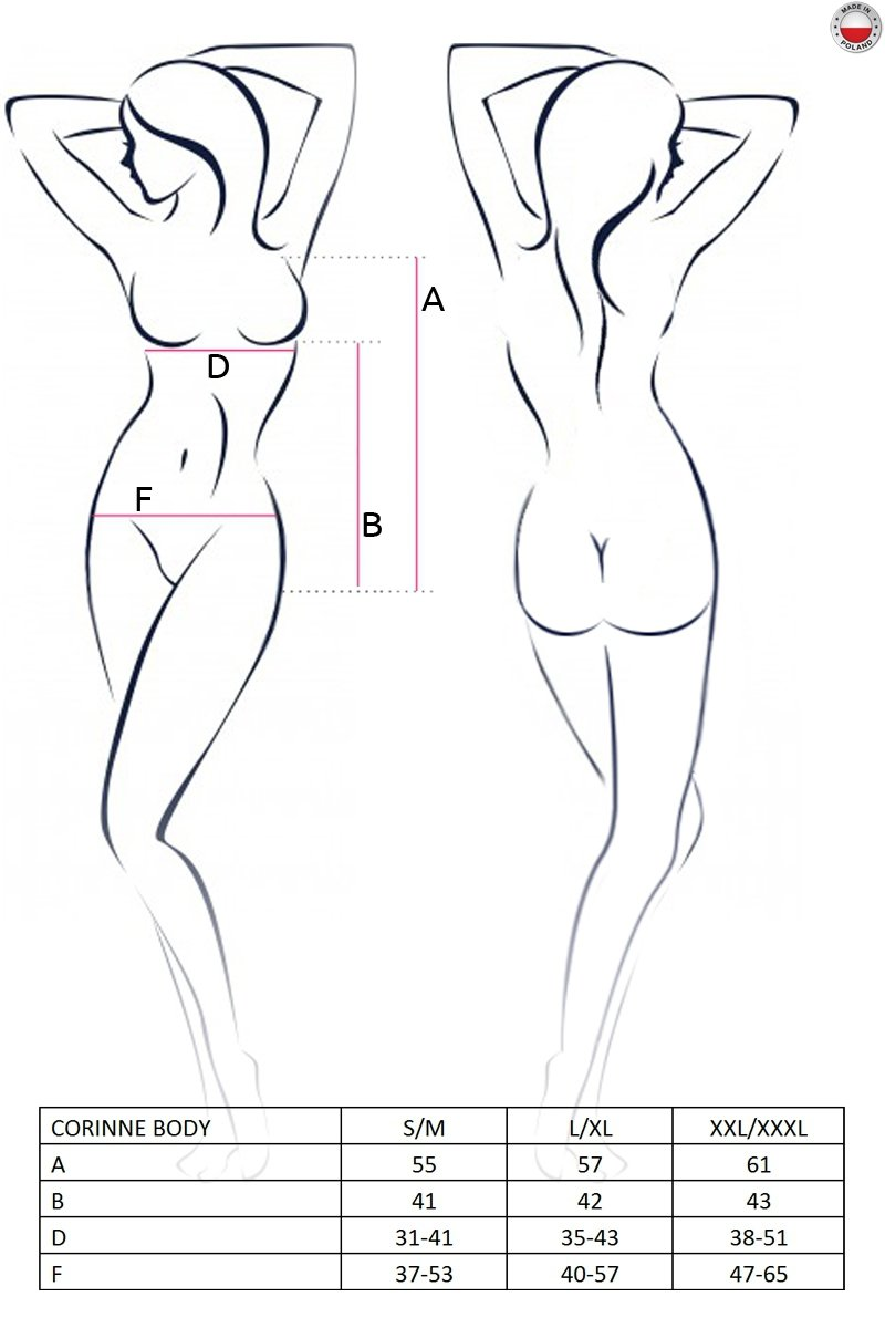 CORINNE BODY kremowe body