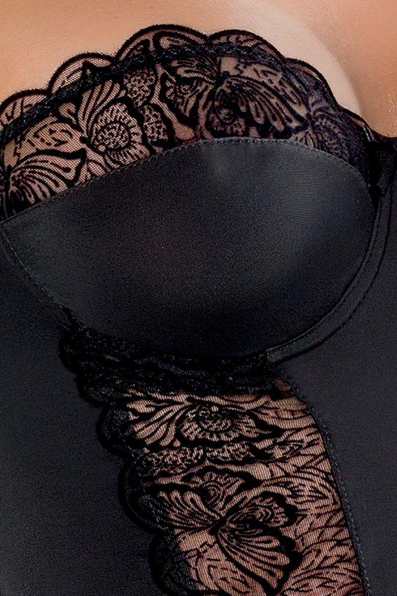 KALIA CHEMISE czarna koszulka nocna