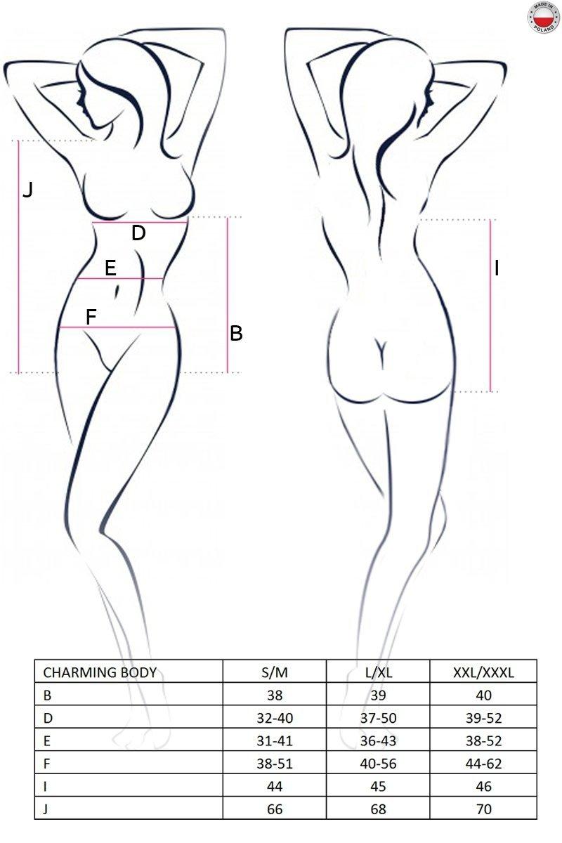 CHARMING BODY czarne body
