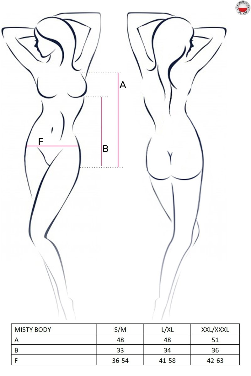 MISTY BODY kremowe body