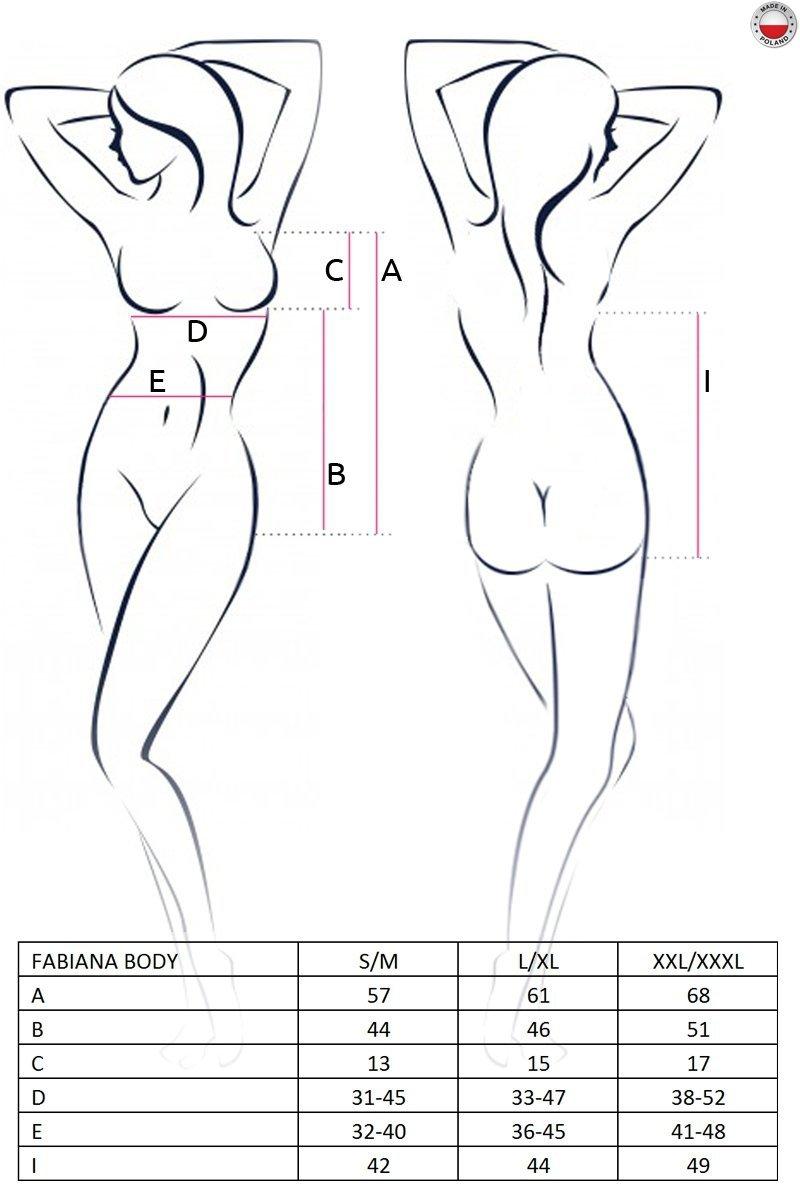 FABIANA BODY czerwone body