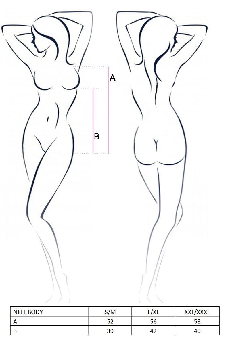 NELL BODY szare body