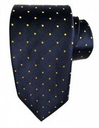 Cravatta - Uomo - Blu - pois