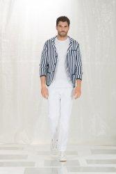Giacca maglia - Giacche uomo - Giacca a righe