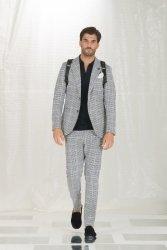 Pantaloni eleganti uomo - pantaloni a quadri