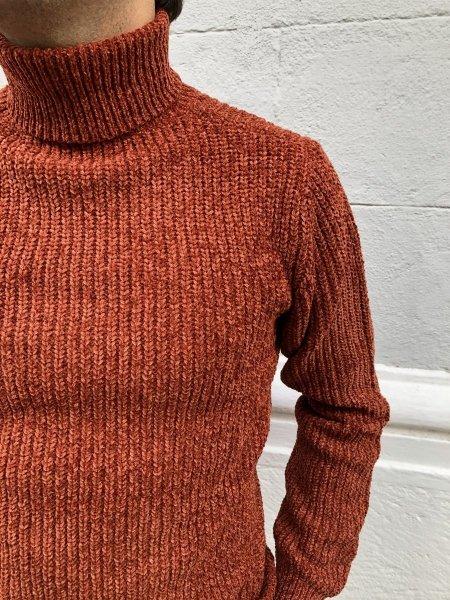 Pullover uomo, ruggine - Men's pullover - Maglioni uomo online - Abbigliamento Gogolfun.it
