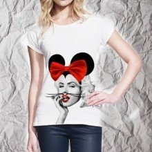 T shirt donna - Miky Marilyn - Gogolfun.it