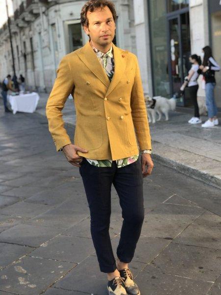 Pantaloni uomo -  Pantaloni blu - Abbigliamento Paul Miranda - Gogolfun.it