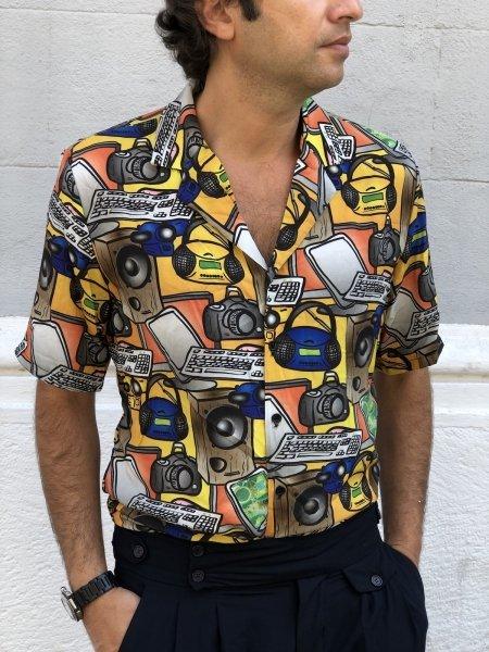 Camicia uomo particolare - Mezza manica - Camicie uomo gogolfun.it