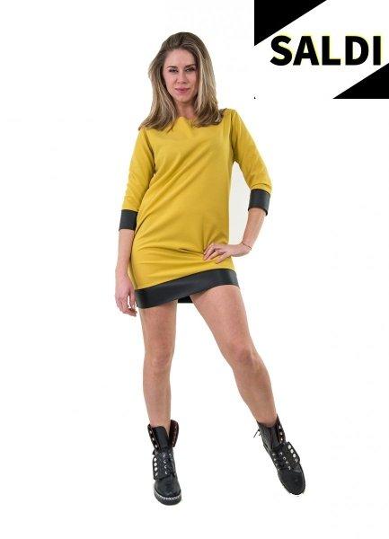 Abitino giallo corto - Abito estivo - Vestitino corto - Gogolfun.it