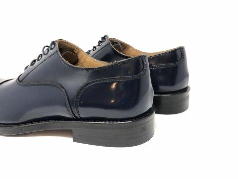 Scarpe da sposo - Lucide - Blu - Vera pelle - Negozio di scarpe gogolfun.it