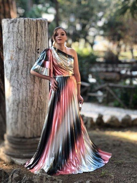 Vestiti donna - Abiti da cerimonia - Colorato - Negozio abbigliamento Gogolfun.it